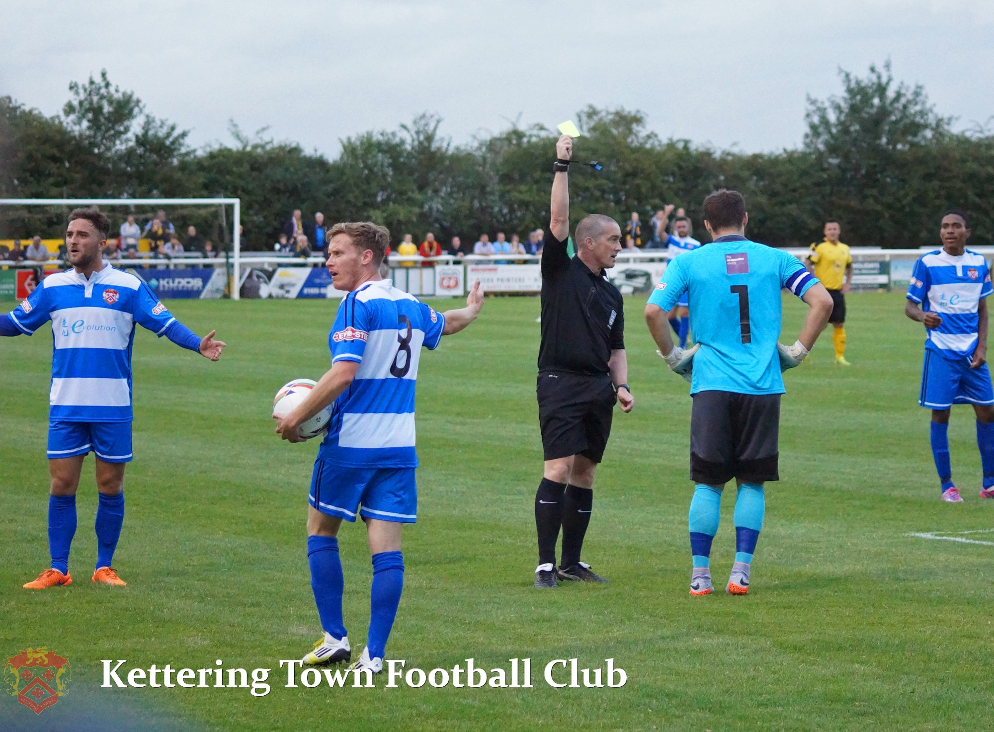 Kettering town fc match photos with celebrity