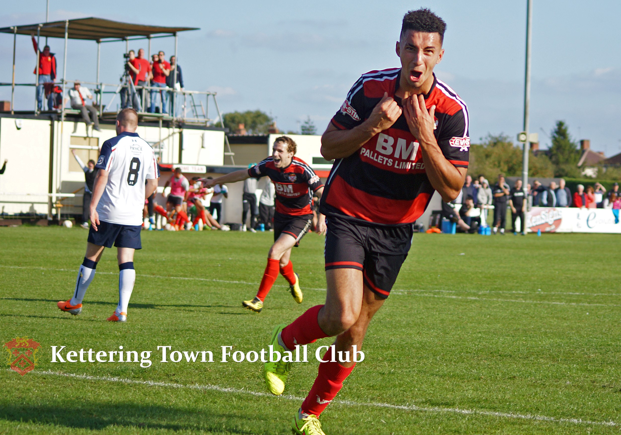 Kettering Town 2-1 AFC Telford | Kettering Town Football Club