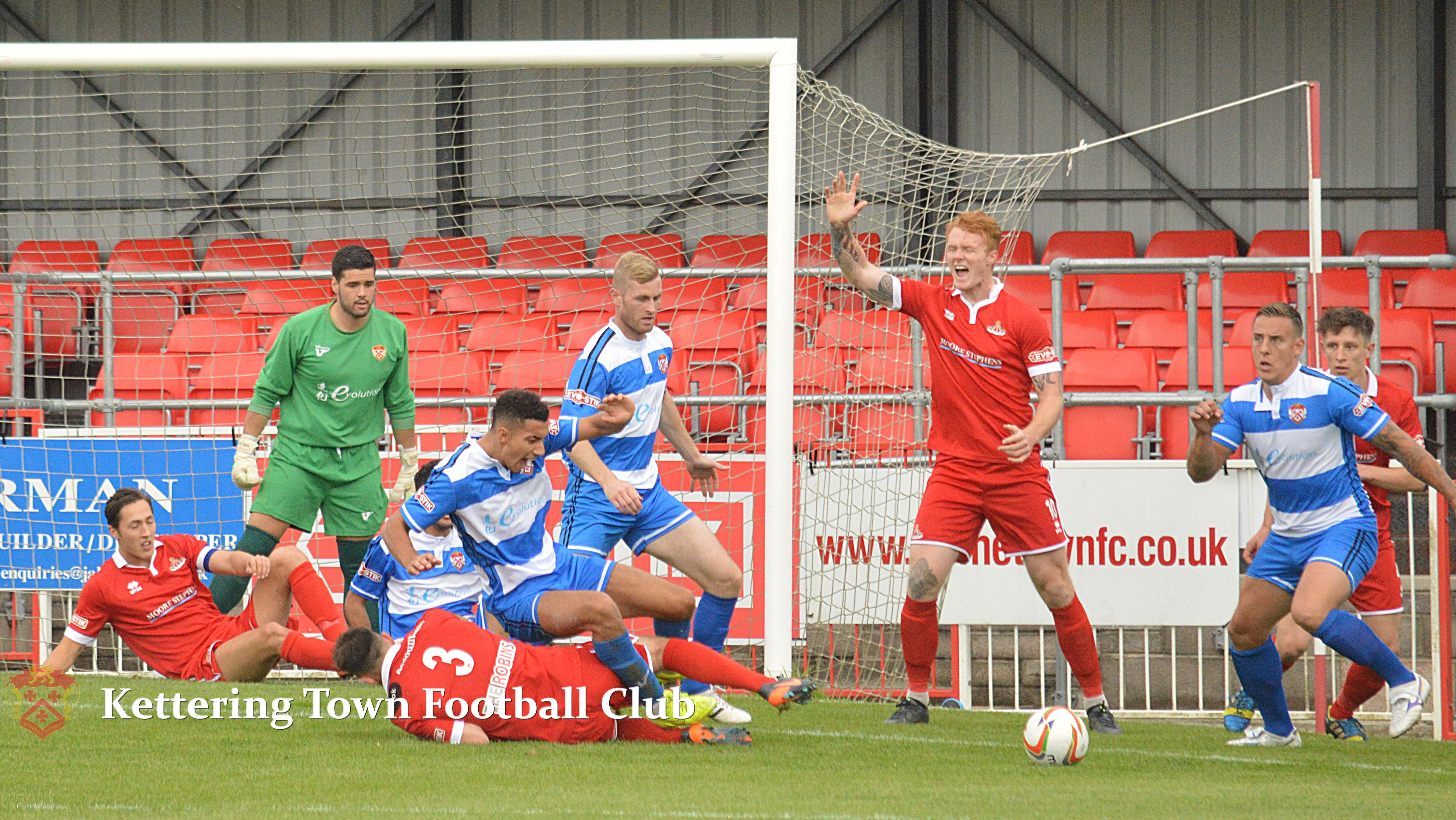 Frome Town 1-2 Kettering Town | Kettering Town Football Club